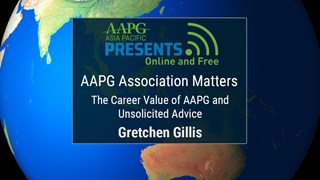 Gretchen Gillis - AAPG Association Matters: The Career Value of AAPG and Unsolicited Advice