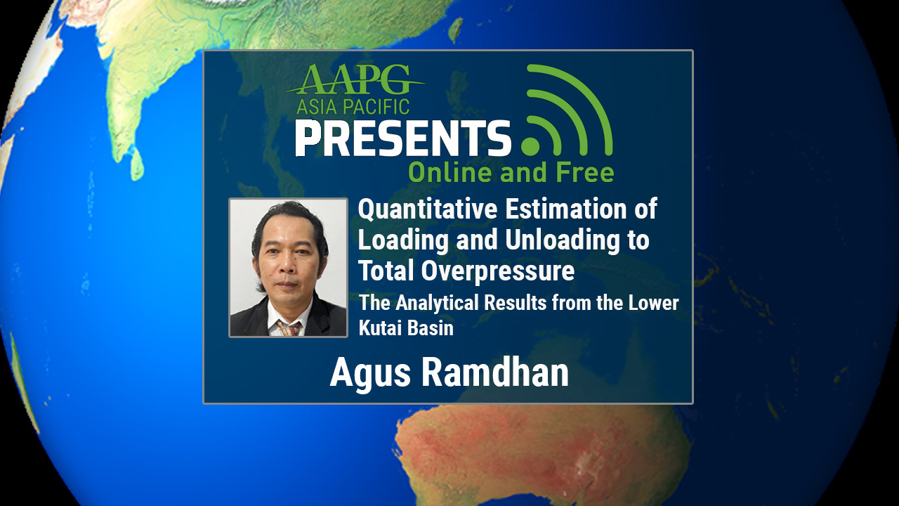 Agus Ramdhan - Quantitative Estimation of Loading and Unloading to Total Overpressure: The Analytical Results from the Lower Kutai Basin