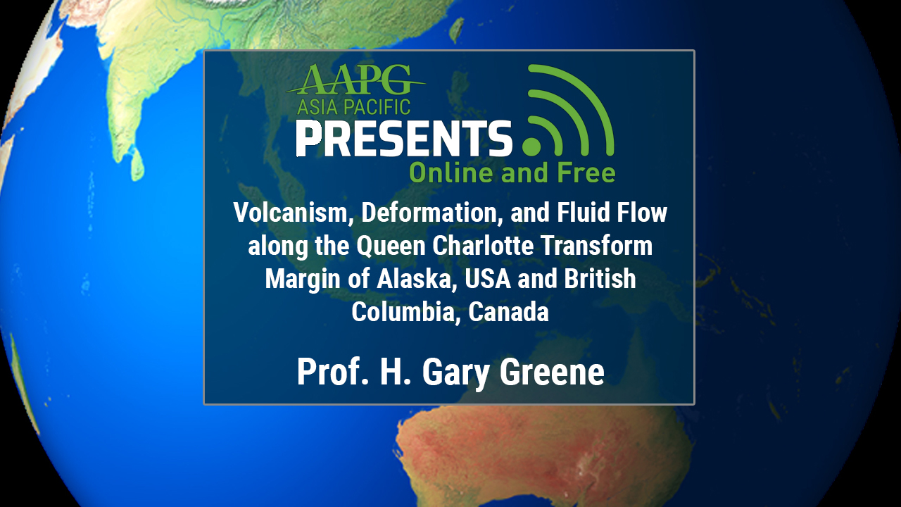 Gary Greene - Volcanism, Deformation, and Fluid Flow along the Queen Charlotte Transform Margin of Alaska, USA and British Columbia, Canada