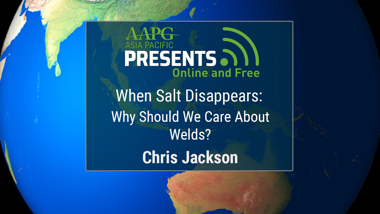 Chris Jackson - When Salt Disappears: Why Should We Care About Welds?