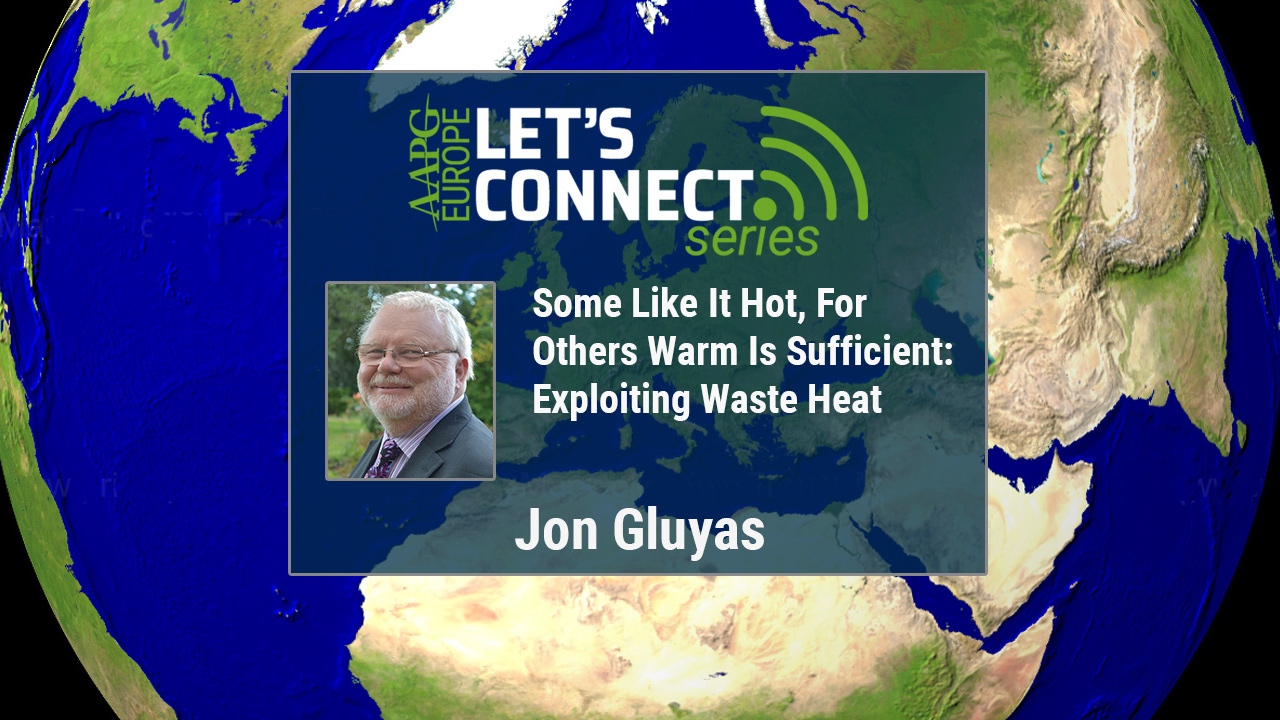 Jon Gluyas - Some Like It Hot, For Others Warm Is Sufficient: Exploiting Waste Heat