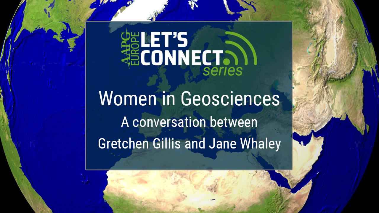 Gretchen Gillis & Jane Whaley - Women in Geosciences
