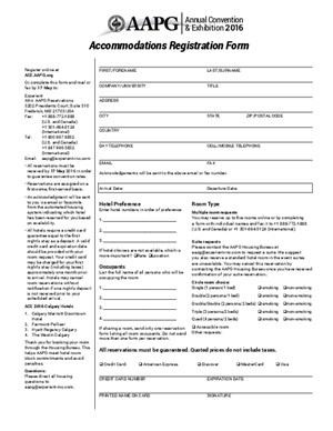 ACE 2016 Accommodations Registration Form