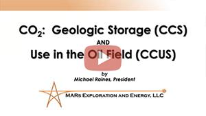 CO2 Geological Storage (CCS)