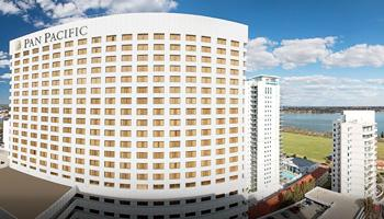 Perth, Australia - Pan Pacific Hotel