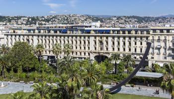 Nice, France - Plaza Hotel