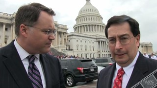 David Curtiss and Charles Sternbach discuss Congressional Visit Days