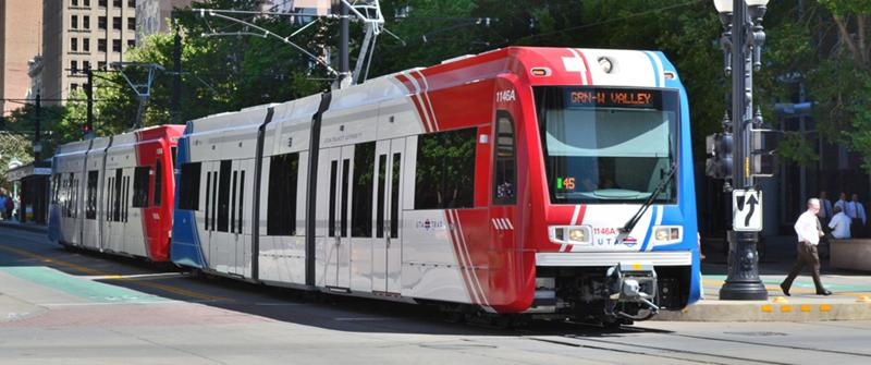 Salt Lake City TRAX Municiple Transportation