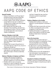 Overview for Company code of ethics template